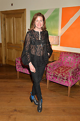 ERIN MORRIS at a screening of the short film The Chase hosted by Jade Parfitt at The Soho Hotel, 4 Richmond Mews, Soho, London on 22nd February 2015.