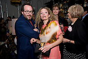 ADAM BRAY; STEPHANIE THEOBALDS;  INDIA JANE BIRLE, Launch of Stephanie Theobald's book' A Partial Indulgence'  drinks provided by Ruinart champage nd Snow Queen vodka. The Artesian at the Langham, 1c Portland Place, Regent Street, London W1