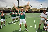 4/22/18 Men's Tennis vs North Carolina