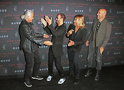 © Licensed to London News Pictures. 03/09/2014, UK. Jimmy Page; Ringo Starr; Iggy Pop; John Varvatos, John Varvatos - Flagship European London store launch party, Conduit Street, London UK, 03 September 2014. Photo credit : Richard Goldschmidt/Piqtured/LNP