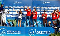 Guerdat Steve, SUI, Bianca, Kistler Andy, SUI<br /> World Equestrian Games - Tryon 2018<br /> © Hippo Foto - Dirk Caremans<br /> 19/09/18