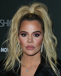 HOLLYWOOD, LOS ANGELES, CA, USA - NOVEMBER 14: Fashion Nova x Cardi B Collaboration Launch Event held at Boulevard3 on November 14, 2018 in Hollywood, Los Angeles, California, United States. 14 Nov 2018 Pictured: Khloe Kardashian. Photo credit: Xavier Collin/Image Press Agency/MEGA TheMegaAgency.com +1 888 505 6342