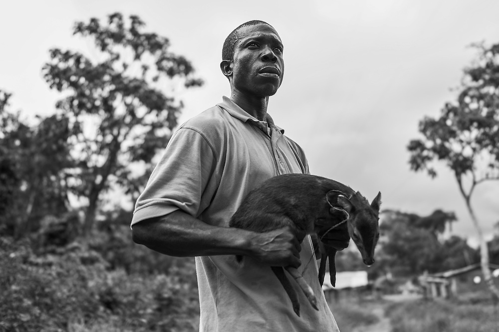 Bush Meat or Pet? John Logan Town, Liberia.