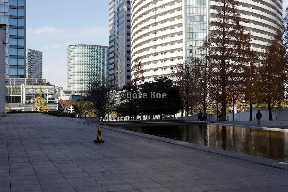 new office and residential high rise buildings Yokohama Japan