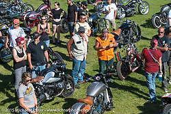 """Built for the Ride"" bike show presented by RSD in City Park during the 75th Annual Sturgis Black Hills Motorcycle Rally.  SD, USA.  August 1, 2015.  Photography ©2015 Michael Lichter."