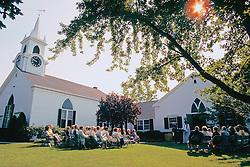 Outside Church Service