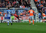 Wigan Athletic v Blackpool 260414
