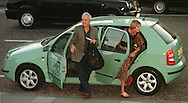 Skoda Fringe Gala at Our Dynamic Earth, Edinburgh: Rodney Bewes and Suzanna York arrive at the showcase event for acts appearing at the Edinburgh Festival Fringe........