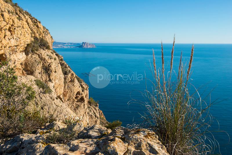 Parque Natural de Sierra Helada o Gelada. Benidorm. Alicante. España ©Antonio Real Hurtado / PILAR REVILLA