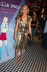 CAT DEELEY  at a party to promote the Kiss It Better campaign for the Great Ormond Street Hospital in association with Stila and Space.NK held at Frankie's, Yeoman's Row, London on 31st May 2005.<br /><br />NON EXCLUSIVE - WORLD RIGHTS