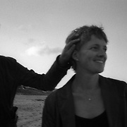 Jen (right) and Jane on Terrigal Beach, NSW, Australia, November 2007. Photo by Tim Clayton..