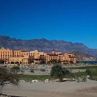 Mexico, Baja California Sur, Loreto. Villa del Palmar Loreto, a secluded resort hotel and timeshare property.