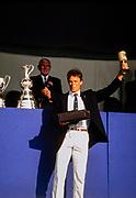 England, 1989 Henley Royal Regatta, River Thames, Henley Reach,  [© Peter Spurrier/Intersport Images], The Diamond Challenge Sculls, Vaclav CHULUPA, Dukla Praha, Czechoslovakia,