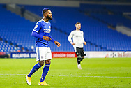 Cardiff City's Leandro Bacuna (7) in action during the EFL Sky Bet Championship match between Cardiff City and Barnsley at the Cardiff City Stadium, Cardiff, Wales on 3 November 2020.