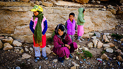 Portrait of a nomadic family in the Dades Valley in southern Morocco, North Africa<br /> <br /> (c) Andrew Wilson | Edinburgh Elite media