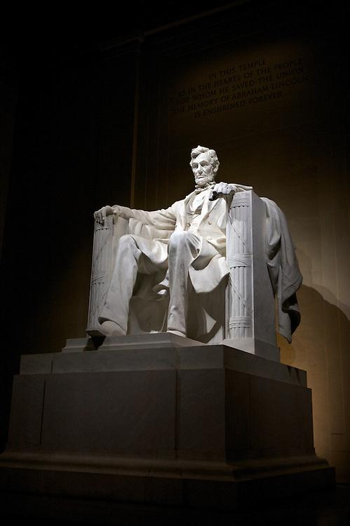 UNITED STATES-WASHINGTON DC-The Lincoln Memorial. PHOTO: GERRIT DE HEUS.VERENIGDE STATEN-WASHINGTON DC-Het Lincoln Memorial. PHOTO COPYRIGHT GERRIT DE HEUS