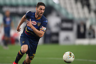 Lecce's Italian defender Andrea Rispoli during the Serie A match at Allianz Stadium, Turin. Picture date: 26th June 2020. Picture credit should read: Jonathan Moscrop/Sportimage