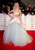 Holly Willoughby at the 25th National Television Awards, Arrivals, O2, London, UK 28 Jan 2020  photos by Brian Jordan