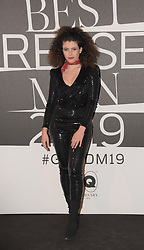 Marianne Mirage at the photocall of GQ Best Dressed Men 2019  Milan,Italy, 11 January 2019  (Credit Image: © Nick Zonna/Soevermedia via ZUMA Press)