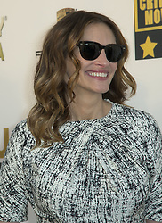 April 20, 2017 - Santa Monica, California, U.S - Julia Roberts Is PEOPLE's 2017 World's Most Beautiful Woman! on Wednesday April 19. 2017. FILE PHOTO: Julia Roberts at the 19th Critic's Choice Movie Awards at Barker Hangar in Santa Monica, California on Thursday January 16, 2014. (Credit Image: © Prensa Internacional via ZUMA Wire)