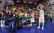 Marco Spissu, Commando Ultra' Dinamo<br /> Banco di Sardegna Dinamo Sassari - Unet Hapoel Holon<br /> FIBA BCL Basketball Champions League 2019-20<br /> Sassari, 28/01/2020<br /> Foto L.Canu / Ciamillo-Castoria