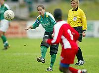 Fotball<br /> Toppserien 2004<br /> 26.06.2004<br /> Team Strømmen v Fløya 1-5<br /> Foto: Morten Olsen, Digitalsport<br /> <br /> Kristina Kiss - Fløya