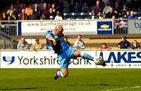 Photo: Alan Crowhurst.<br />Wycombe Wanderers v Darlington. Coca Cola League 2. 29/04/2006. Tommy Mooney goes close for Wycombe.