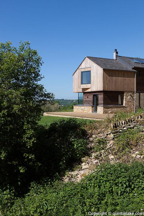 Larch House, Horsley, Gloucestershire. Architect: Millar+Howard Workshop