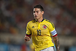 June 7, 2017 - Murcia, Murcia, Spain - James Rodriguez (Real Madrid) during a friendly match between national team of Spain vs. Colombia in Nueva Condomina Stadium, Murcia, Spain.Wednesday, June 7, 2017. (Credit Image: © Jose Breton/NurPhoto via ZUMA Press)