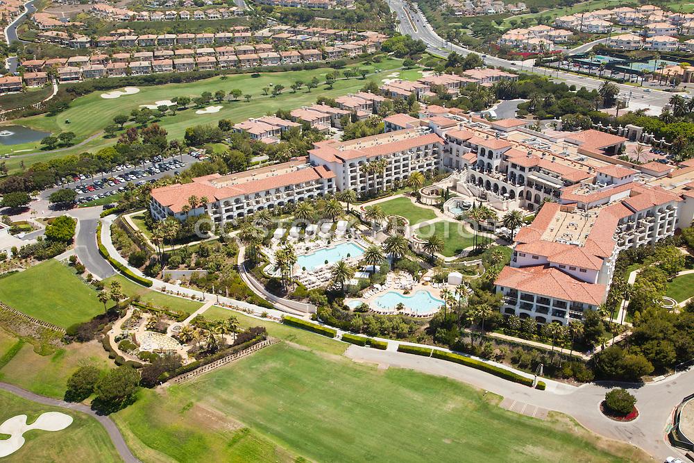St. Regis Monarch Beach Resort Aerial Stock Photo