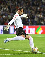 World Cup 2010 Preview - Portugal Team. In picture: Eduardo (goalkeeper). **File Photo** 20100221. PHOTO: Hugo Teixeira/CITYFILES