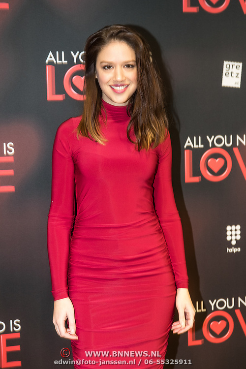 NLD/Amsterdam/20181126 - premiere All You Need Is Love, Jamie Grant