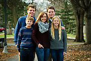 © 2015 Brian J. Morowczynski ViaPhotosThe Turk Family is photographed at Priory Park in River Forest on Saturday, November 28th. © 2015 Brian J. Morowczynski-ViaPhotos