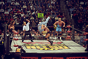 WCW professional wrestling action
