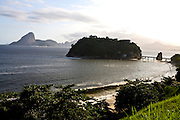 Niteroi_RJ, Brasil...Vista panoramica do litoral em Niteroi...Panoramic view of coast in Niteroi...Foto: JOAO MARCOS ROSA / NITRO..