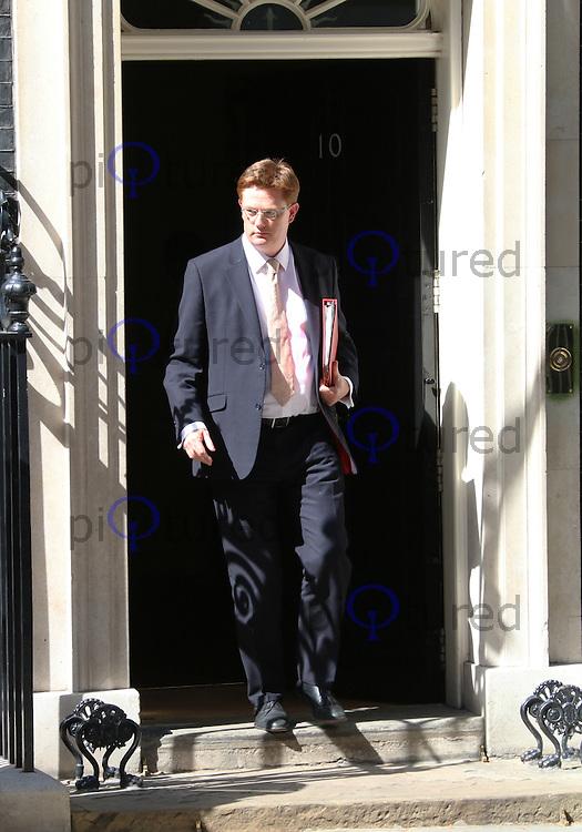 Danny Alexander, Cabinet meeting, 10 Downing Street, London UK, 10 June 2014, Photo by Richard Goldschmidt