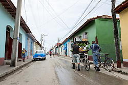 25 September 2015, Trinidad, Cuba: Glimpse of everyday life in Trinidad, Cuba.