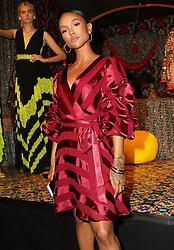 September 12, 2018 - New York City, New York, USA - 9/11/18.Karrueche Tran at the Alice and Olivia SS19 Fashion Presentation during New York Fashion Week in New York City..(NYC) (Credit Image: © Starmax/Newscom via ZUMA Press)