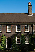 Exterior of the Geffrye Museum almshouses, built in 1714, on the 20th September 2019 in London in the United Kingdom.