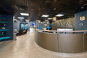 Interior shot of the front desk area inside Innovative Dental located in Springfield, MO.