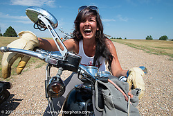 On the Michael Lichter/Sugar Bear ride during the 75th Annual Sturgis Black Hills Motorcycle Rally.  SD, USA.  August 5, 2015.  Photography ©2015 Michael Lichter.