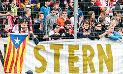 15.05.2016, Red Bull Arena, Salzburg, AUT, 1. FBL, FC Red Bull Salzburg vs RZ Pellets WAC, 36. Runde, im Bild Salzburger Stern Fan Protest // Fans during Austrian Football Bundesliga 36th round Match between FC Red Bull Salzburg and RZ Pellets WAC at the Red Bull Arena, Salzburg, Austria on 2016/05/15. EXPA Pictures © 2016, PhotoCredit: EXPA/ JFK