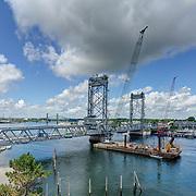 New Memorial Bridge During Final Inspection