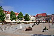 Rynek Kościuszki w Białymstoku, Polska<br /> Kościuszko Square in Białystok, Poland