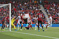 Football - 2019 / 2020 Premier League - AFC Bournemouth vs. Sheffield United<br /> <br /> Billy Sharp of Sheffield United pounces to score a late equaliser at the Vitality Stadium (Dean Court) Bournemouth <br /> <br /> COLORSPORT/SHAUN BOGGUST