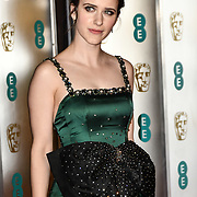 Rachel Brosnahan Arrivers at EE British Academy Film Awards in 2019 after-party dinner at Grosvenor house on 10 Feb 2019.