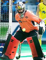 ANTWERP -   Goallie Andrew Charter    of Australia during the final Australia vs Belgium (1-0). WSP COPYRIGHT KOEN SUYK
