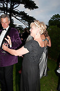 THE COUNTESS OF MARCH, The Goodwood Ball. In aid of Gt. Ormond St. hospital. Goodwood House. 27 July 2011. <br /> <br />  , -DO NOT ARCHIVE-© Copyright Photograph by Dafydd Jones. 248 Clapham Rd. London SW9 0PZ. Tel 0207 820 0771. www.dafjones.com.