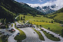 THEMENBILD - die Mautstation auf der Salzburger Seite. Die Hochalpenstrasse verbindet die beiden Bundeslaender Salzburg und Kaernten und ist als Erlebnisstrasse vorrangig von touristischer Bedeutung, aufgenommen am 11. Juni 2020 in Fusch a.d. Glstr., Österreich // the toll station on the Salzburg side. The High Alpine Road connects the two provinces of Salzburg and Carinthia and is as an adventure road priority of tourist interest, Fusch a.d. Glstr., Austria on 2020/06/11. EXPA Pictures © 2020, PhotoCredit: EXPA/ JFK