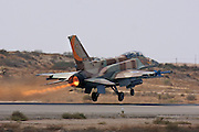 Israeli Air Force F-16I Fighter jet.